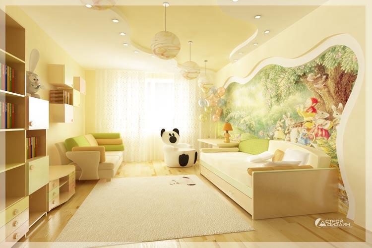 Интерьеры квартир в картинках детская